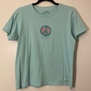 Life is Good | Peace Tee Size M
